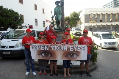 OPEN YOUR EYES (OYE) DEMONSTRATION