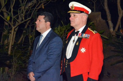 Change of Governor in Gibraltar
